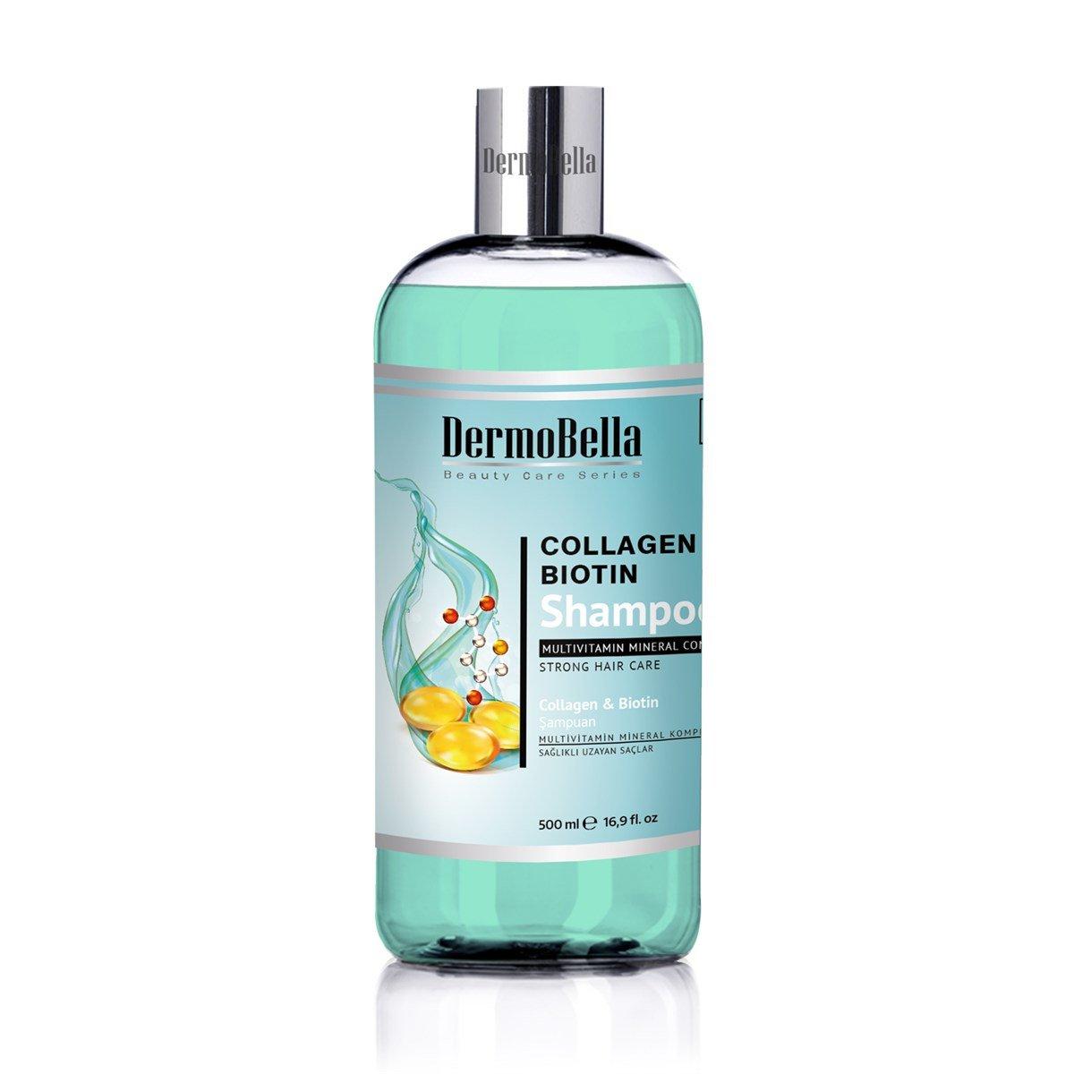Dermobella Collagen Biotin Şampuan 500 ml